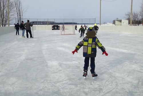 Àtous les usagers de la patinoire au Chalet des Sports de Cloridorme :