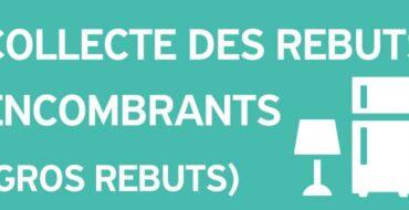 Semaine des Gros Rebuts : 31 mai au 3 Juin 2021 inclusivement.